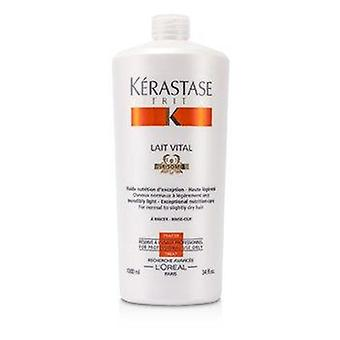 Nutritive Lait Vital Incredibly Light - Exceptional Nutrition Care (For Normal to Slightly Dry Hair) 1000ml or 34oz
