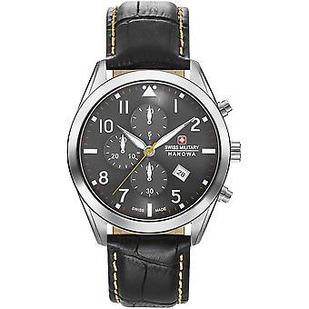 Militar suizo Hanowa 06-4316.7.04.009 Helvetus Chrono Reloj de los hombres
