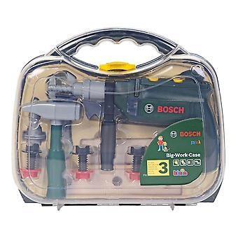 Bosch Role Play Toy Tool Case avec Hammer Drill