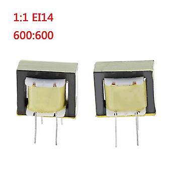 2 جهاز كمبيوتر شخصى 1:1/ei14 عزل محولات الصوت محولات 600:600 أوم