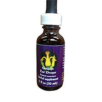 Flower Essence Services Golden Ear Drops Dropper, 0.25 oz