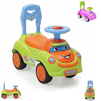 Slipper, children's car Pretty with music, light and luminous buttons on the steering wheel