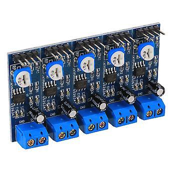 5 x Säädettävä LM386 audiovahvistinmoduuli 200 kertaa 4-12V tulo 10K-vastus