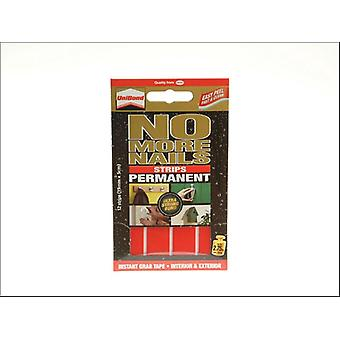 Unibond No More Nails Permenant Double Sided Strips 12 x 50mm