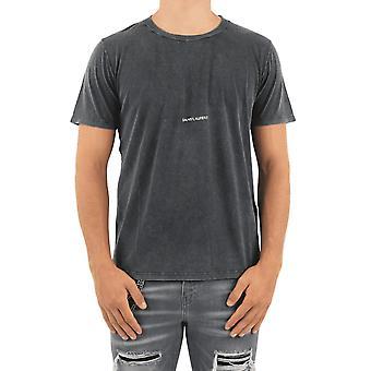 Saint Laurent T-SHIRT COL ROND (VO Black 498281YB2LO1059 Top