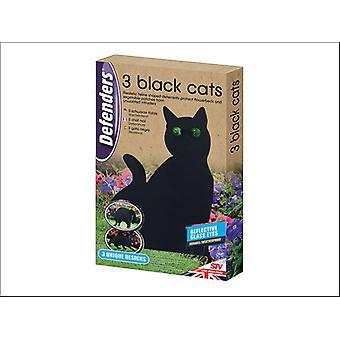 STV Three Black Cat Deterrents STV634