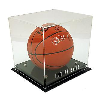 OnDisplay Deluxe UV-Protected Basketball/Soccer Ball Display Case - DIY Personalizado