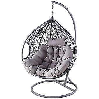 Cocoon hojdacia stolička veľkosť XXXL, technorate šedá