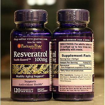Resveratrol 100 Mg Healthy-aging Support 120 Pcs