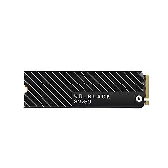 Western digital_black sn750 1tb nvme internal gaming ssd with heatsink - generation 3 pcie, m.2 2280