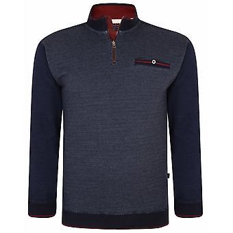 KAM Kam Quarter Zip Sweatshirt