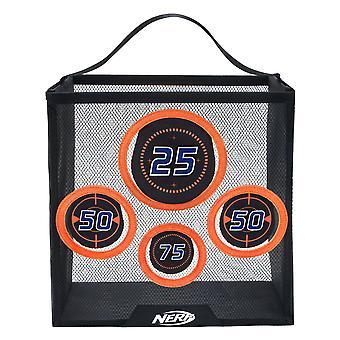 Nerf 11506 Elite tragbare Praxis Ziel, schwarz