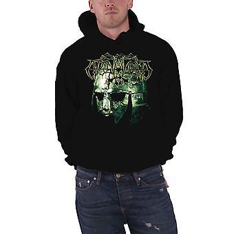Enslaved Hoodie Vikingligr Veldi Band Logo new Official Mens Black Pullover
