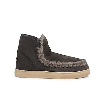 Mou Mufw111000acha Women's Grey Other Materials Ankle Boots
