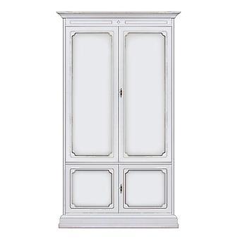 Garderobe 2 houten deuren klassieke stijl 'Wklass';