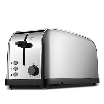 Daewoo Edelstahl Toaster - 2 Schubladen, 4 Scheiben