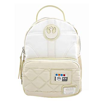 Star Wars Mini Backpack Princess Leia Hoth Logo new Official loungefly