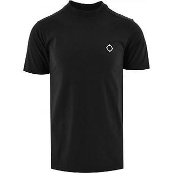 MA.STRUM Black Short Sleeve Icon T-Shirt