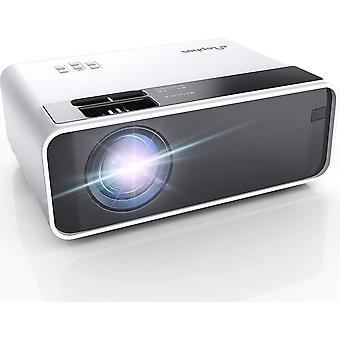 Mini Projector, Phone Projector 5500 Lumens, LED Portable Home Cinema Projector