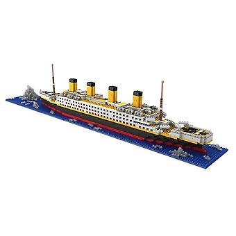 1860pcs No Match Lepining Rms Titanic Cruise Ship Model Boat Blocks (66503no