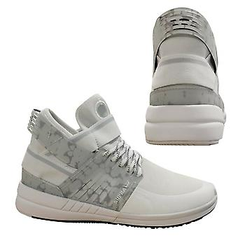 Supra Skytop V White Grey Slip On High Top Lace Up Mens Trainers 08032 102 B50E