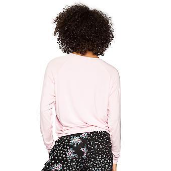 Cyberjammies Hannah 4736 Kvinder's Pink Floral Modal Pyjamas Top