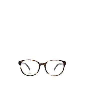 Dior DIORETOILE1 grey havana female eyeglasses