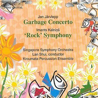 Jarvlepp/Kalnins - J Rvlepp: Garbage concert; Kalnins: 'Rock' Symfonie [CD] USA importeren