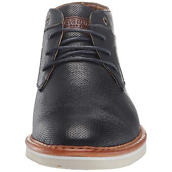 Steve Madden Mens Daizer Leather Closed Toe Ankle Fashion Boots