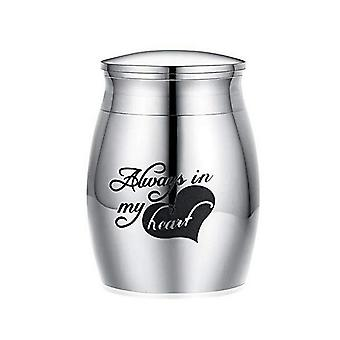 Human Ashes For Pets Memorials Stainless Steel Dog Cremation Urn Casket
