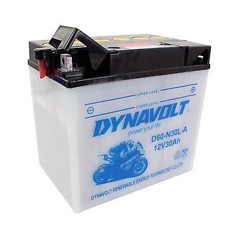 Dynavolt C60N30LA High Performance Battery With Acid Pack
