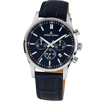 Mens Se Jacques Lemans 1-2025C, Kvarts, 42mm, 10ATM