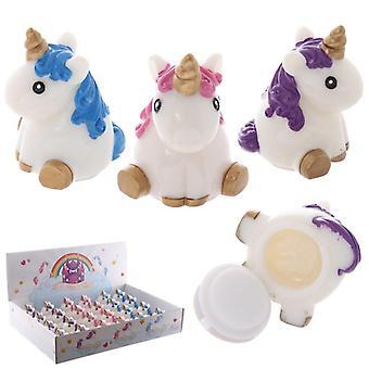 Funky lippenbalsem - unicorn designs 1 geleverd