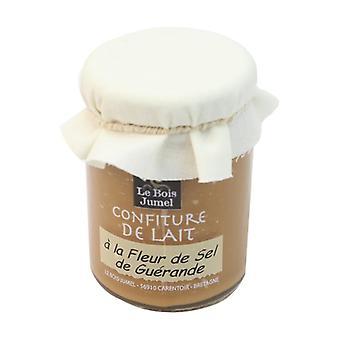 Organic milk jam with Guérande fleur de sel 250 g