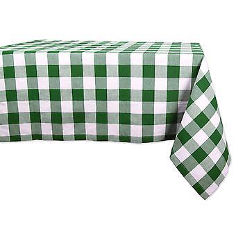 Dii Shamrock Green Buffalo Check Nappe - Camz10540