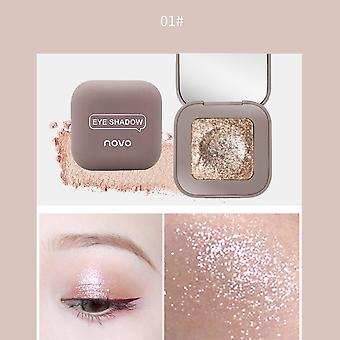 Single High Shiny Cream, Texture Eye Shadow, Lasting Waterproof Shimmer, Pearl