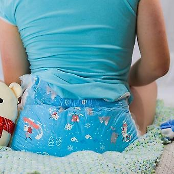 Abdl Adult Size Elastic Waistline High Absorption Soft Disposable Diaper