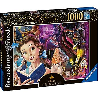 Ravensburger 16486 Disney Prinsesse Belle Skjønnhet & 1000 Puslespill 12+