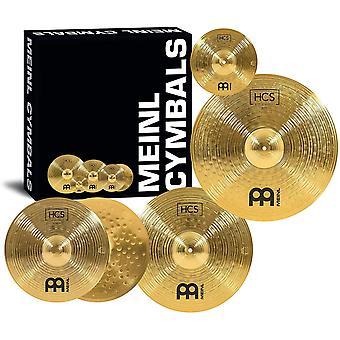 """Meinl cymbale set pack avec 14"""" hihats, 20"""" ride, 16"""" crash, plus un gratuit 10"""" splash – hcs ps65927 traditionnels"""