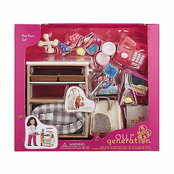 Our generation deluxe pet store set