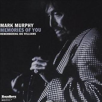 Mark Murphy - Memories of You [CD] USA import