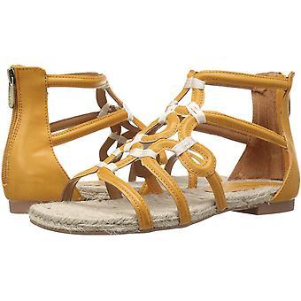 Adrienne Vittadini femei Pablic Fabric Open Toe plaja gladiator sandale