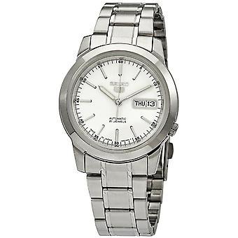 Seiko Series 5 Automatic Silver Dial Men's Watch SNKE49J1