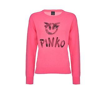 Pinko Scuderia Pink Cashmere Pullover