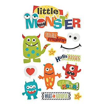Paper House Productions - 3D Stickers - Little Monster