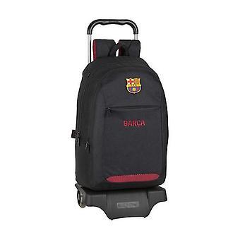 School Reppu pyörillä 905 F.C. Barcelona Musta