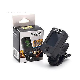 Lcd Clip-on Guitar Tuner, Violin Tuner-ukuele Chromatic Universal 360 Degree