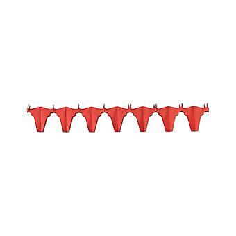 Red bull vuurvaste papieren krans 4,5 m