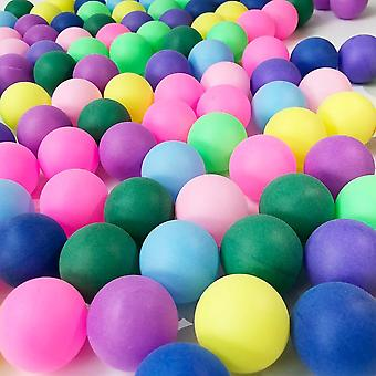 Entertainment Table Tennis Colored Ping Pong Balls