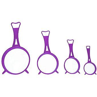 siebsatz 6,5-14 cm violett